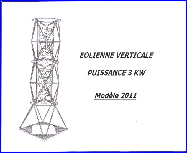 Eolienne Verticale 3 Kw Leseoliennesdusud